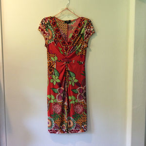 Peck & Peck Floral Dress SZ 8